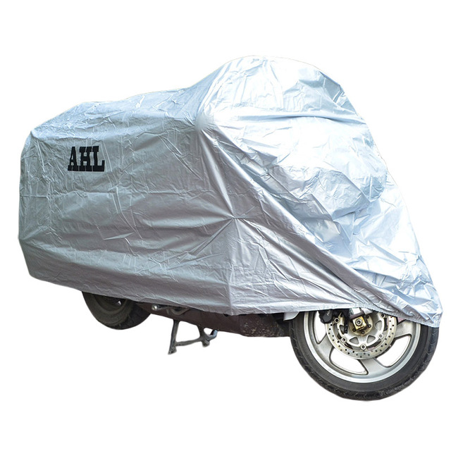 Motorcycle Cover Waterproof Dustproof UV / Dust Resistant / Prevention Scooter Racing Motorbike Bike Covering L XL XXL 3XL