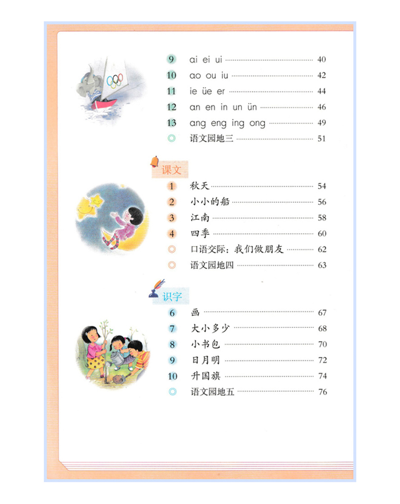 Купить с кэшбэком 2pcs Chinese original textbook of primary school with copybook for Chinese learner and learning Mandarin,Grade one ,volume 1