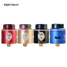 Vapor Storm 24mm Lion RDA Atomizer Rebuildable Dripping Atomizer 3 Stages Airflow Control RDA Tank 510 Thread Dual Core DIY Coil