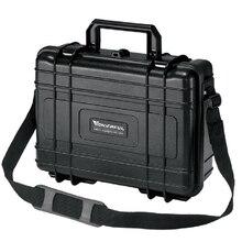 Случае Инструмент Toolbox водонепроницаемый корпус камеры с нарезанные пены выживания Портативный контейнер для переноски инструмента хранения Бесплатная доставка