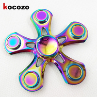 Flower Colorful Hand Spinner Metal For Autism and ADHD 2017 New Arrival EDC Toys for Autism and ADHD Reduce Stress Kids Gifts