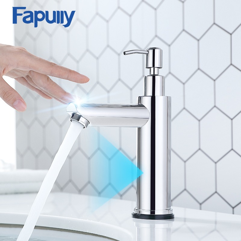 Fapully New Basin Faucet Brushed Nickel