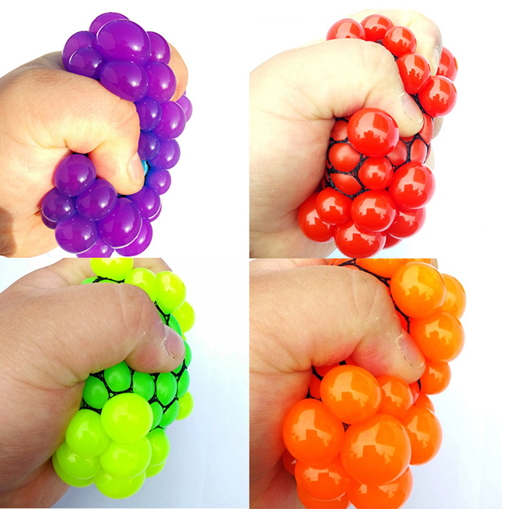 Funny 6.5cm/5.5cm Stress Ball Novetly Squeeze Ball Hand Wrist Exercise Antistress Slime Ball Toy Funny Gadgets Squishy Toy Adult