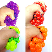 Funny 6.5cm/5.5cm Stress Ball Novetly Squeeze Ball Hand Wrist Exercise Antistress Slime Ball Toy Funny Gadgets Squishy Toy Adult(China)