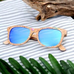Image 2 - BOBO BIRD Sunglasses Women Colorful Frame Polarized Fashionable Vintage Wooden Glasses For Gift oculos de sol feminino AG021