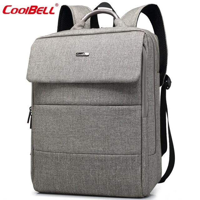 Cool Bell Brand Men Women Laptop Backpack 15.6 inch Waterproof ...