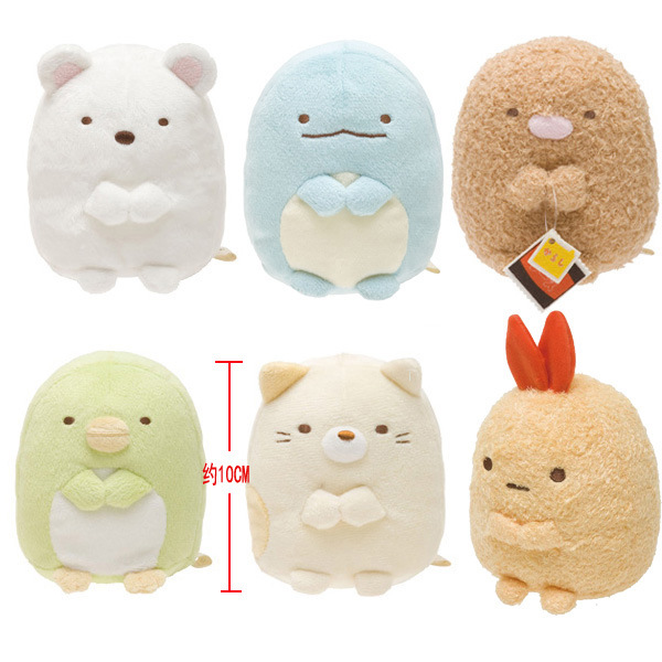 Japanese Plush Toys : Super kawaii japanese cartoon sumikko corner san
