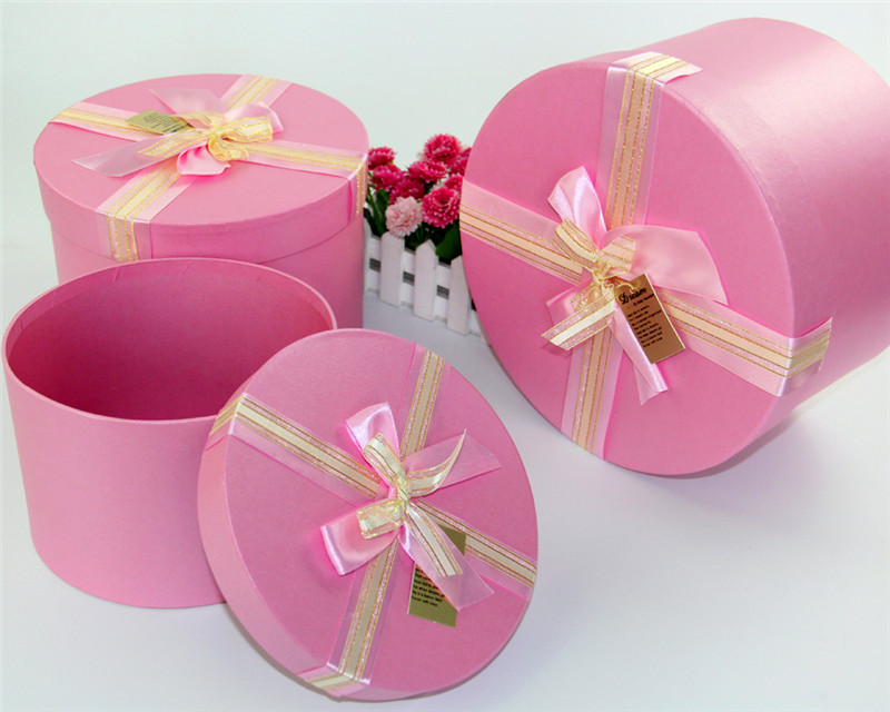 40pcslot High Quality Gift Box Wedding Decoration Box Round Stunning How To Decorate A Gift Box