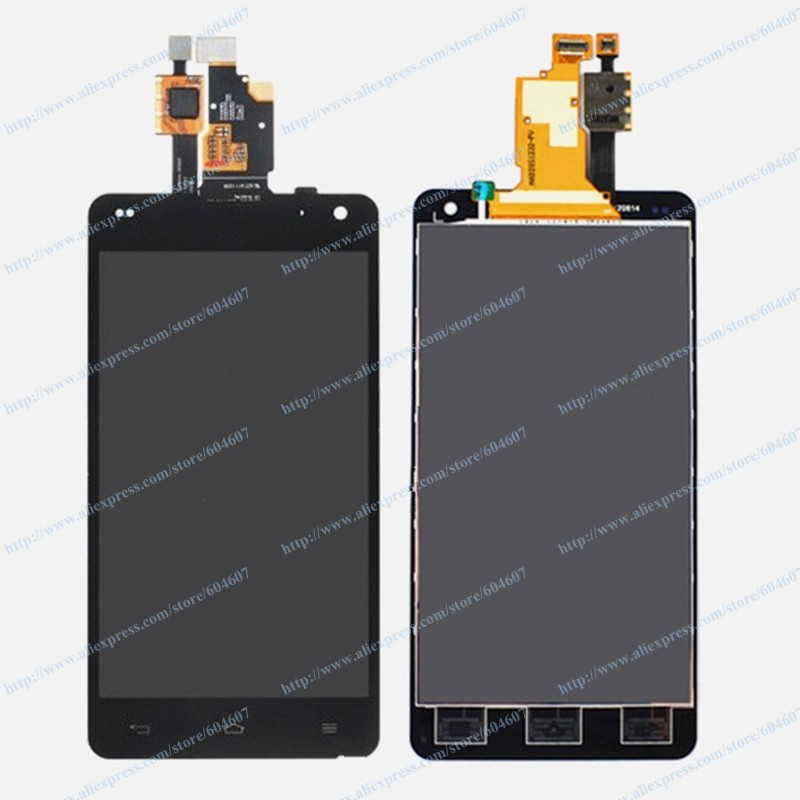 ФОТО New OEM Black Touch Screen with Digitizer+LCD Display Assembly For LG Optimus LS970 E971 E973 E975 Phone