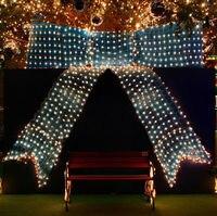 2M X 2M 200 Led Square Net Lamp Christmas Lights String Strip Xmas Decoration IP65 Full