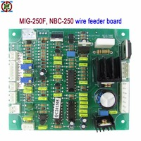YDT MIG 250F, NBC250 riland, jasic type carbon dioxide gas shielded welding wire feeder control board CO2 wire feeder plate