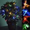 20 LED 5 М Солнечной Энергии Свет-up Игрушки Стрекоза Рисунок Игрушки Лампы