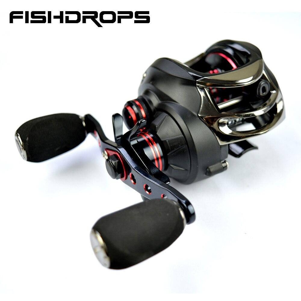 Fishdrops baitcasting reel left hand fishing reel high speed casting fishing reel 7 0 1 baitcaster