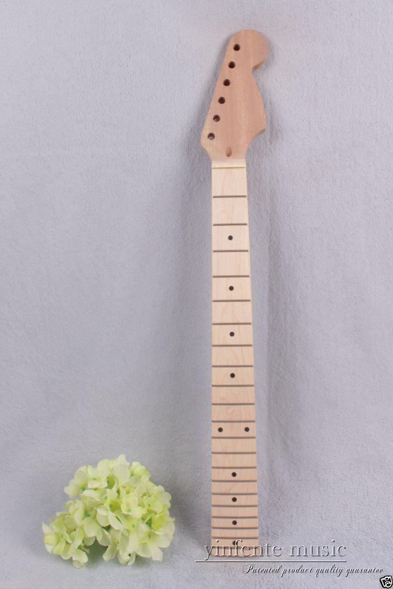 1pcs electric guitar neck 21 fret 25.5'' solid wood Fretboard Truss Rod #778 high quality electric guitar neck truss rod adjustmrnt 440mm guitar parts wholesale