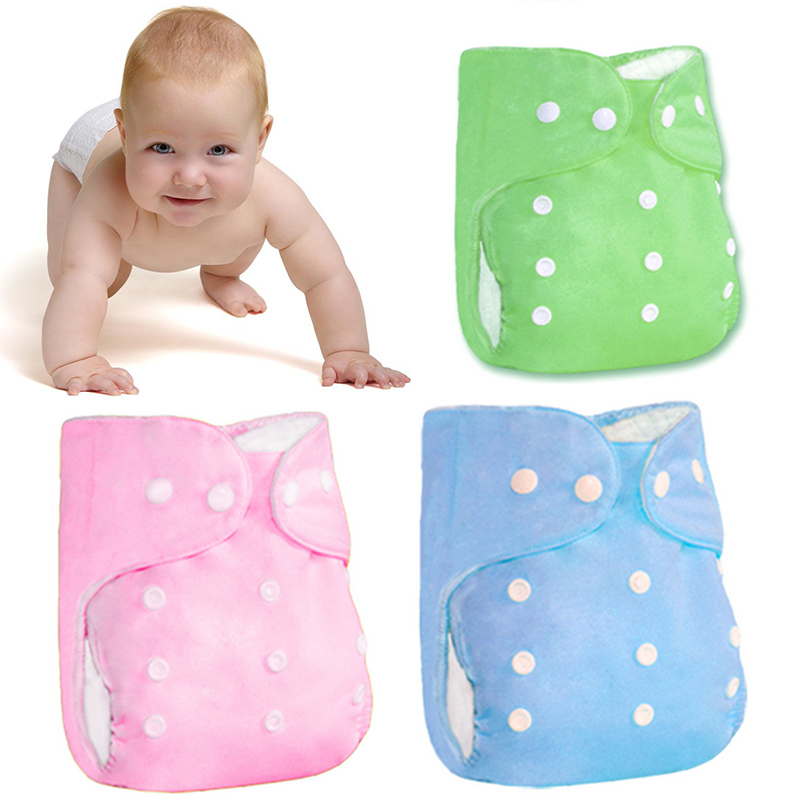 6 Colors Baby Skin Care Diaper Cartoon Printing Thicker Nappy Waterproof Do Not Fade Water Absorption Breathable