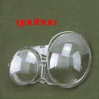 For 02 08 Mercedes Benz W210 E200 E240 E260 E280 Headlight Cover Transparent Shell Headlamp Shell