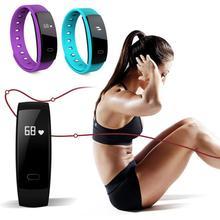 Frecuencia Cardíaca Inteligente iOS Android Compatibilidad Impermeable sport health Smart Wrist band relojes relojes para hombre y mujer