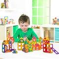 62 Unids/lote Magnética Bloques de Construcción de Modelos y Juguete Del Edificio Imán Plástico Técnica Ladrillos de Aprendizaje y Juguetes Educativos Para Niños