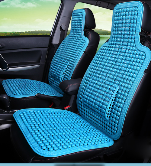summer plastic breathable cool car waist seat cushion auto minibus home chair cover comfortable. Black Bedroom Furniture Sets. Home Design Ideas