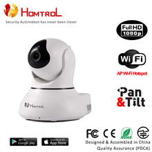 Smart Home Security Wifi Intelligent IP Monitor Camera with Motion Detection Sensitivity Control Wifi AP Hotspot
