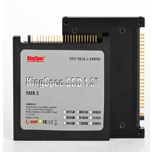Kingspec 1.8 inches 44pin IDE PATA SSD 64GB solid state drive disk MLC Nand flash for laptop notebook Tablet 44pin IDE hard disk