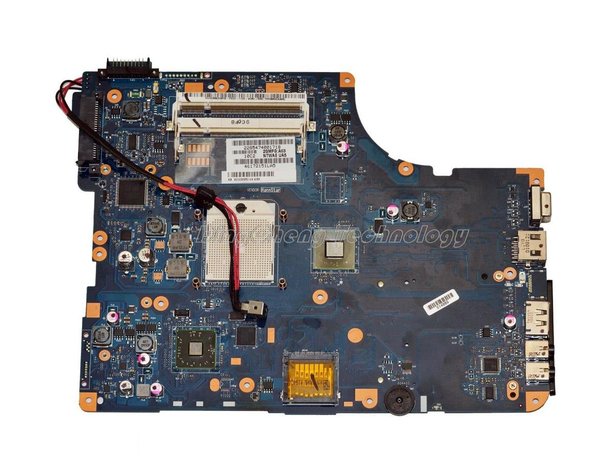 SHELI laptop Motherboard For Toshiba Satellite L550D L555D K000085590 NSWAE LA-5332P integrated graphics card 100% tested