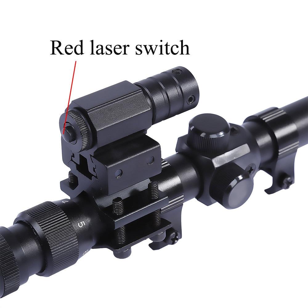 3-7x20 Δακτυλιοσκόπιο + Οπτική λέιζερ 20 - Κυνήγι - Φωτογραφία 4