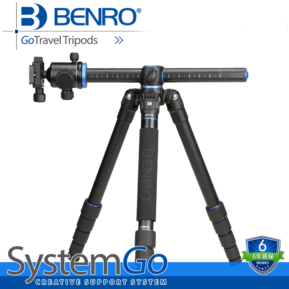 BENRO 360 Degrees Digital SLR DSLR Portable Camera Tripod Professional Camera Tripod GA268TB2 benro a35fbr1 original tripod for slr camera reflexum professional tripod aluminum tripod functional monopod climbing stick