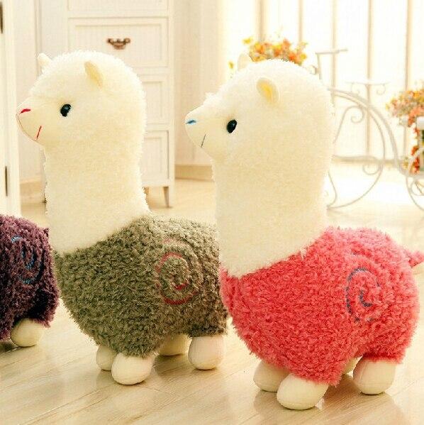 1pc 8 20cm Cute Alpaca Plush Toys Doll Staffed Alpaca Animal Sheep Home Decoration Children Birthday Gift