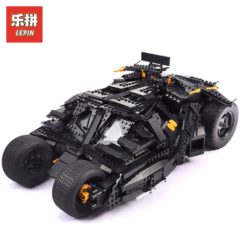 LEPIN 07060 Super Hero Movie Series The Tumbler Batman Armored Chariot Set 76023 Toys DIY Birthday Gifts Building Block Bricks цена и фото