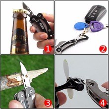 Camping Folding Pocket Mini Survival Tools
