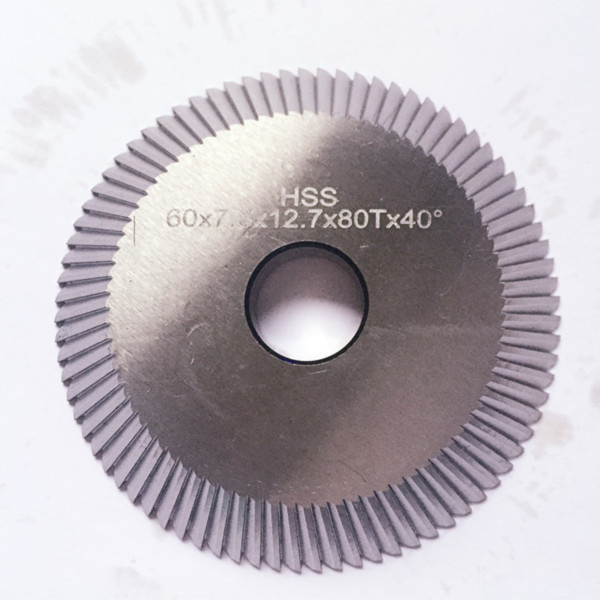 0010B HSS angle cutter 80 tooth milling cutter replace WENXING 233A 100B key cutting machines Locksmith Supplies
