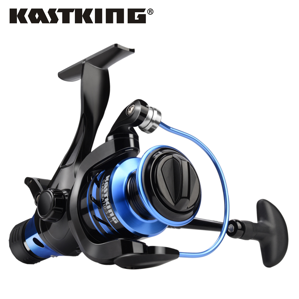 KastKing Pontus High Cost Performance Front and Rear Drag System 9KG Max Drag Fishing Reel 9+1 Ball Bearings Spinning Reel kastking pontus high cost performance front and rear drag system 9kg max drag fishing reel 9 1 ball bearings spinning reel