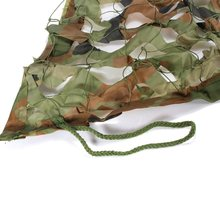 1mX2m Hunting Camping Military Photography Camouflage Net Woodland Leaves Camo Cover Jungle camouflage car-cover sun shelter
