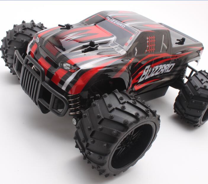 Nouvelle arrivée S727 haute vitesse tout-terrain monstre Mini voiture RC voitures SUV 27 MHz 1:16 20 km/h modèle de course jouets cadeaux