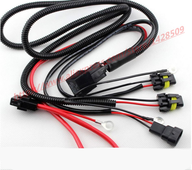 Fine High Quality Hid Lamp Conversion Kit Universal Single Beam Relay Wiring 101 Capemaxxcnl