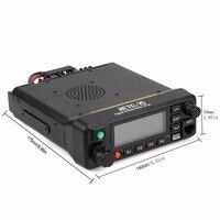 band uhf vhf Retevis RT90 DMR דיגיטלי נייד רדיו GPS VHF UHF משדר Dual Band 50W נייד לרכב שני הדרך תחנת רדיו עם תוכנית טלוויזיה (3)