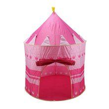 Pink Girls Childrens/Kids Pop-Up Princess Play Tent Castle PlayHouse Indoor/Outdoor Garden