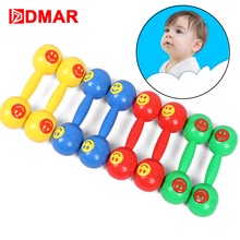 DMAR  2pcs Dumbbells Portable For Kids Toys Fitness Weights Aerobic Exercise Puzzle Toys For Children aerobic fitness chart hits 3 cd