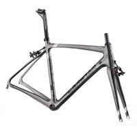 Ламинарного полный углерода дорожный мотоцикл Рамки дороги углерода Рамки комплект bicicletta велосипед углерода Рамки