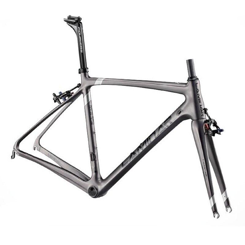 LAMINAIRE Plein carbone vélo de route cadre cadre carbone de route BICICLETTA vélo Cadre En Carbone