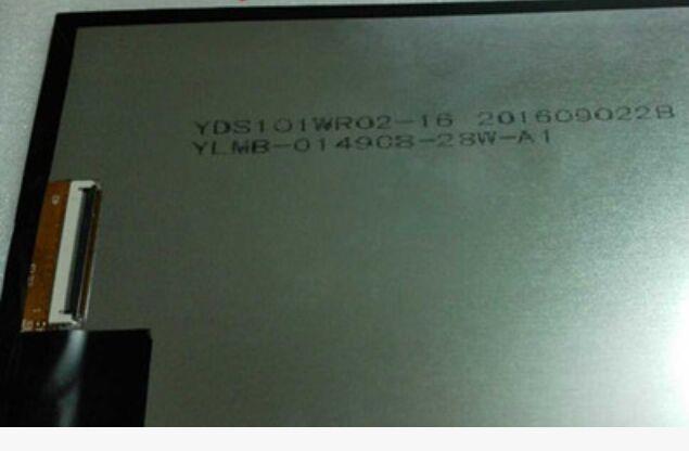 10.1  40pin YDS101WR02-16 YLMB-01490B-28W-A1 lcd display screen co2 16 40 101