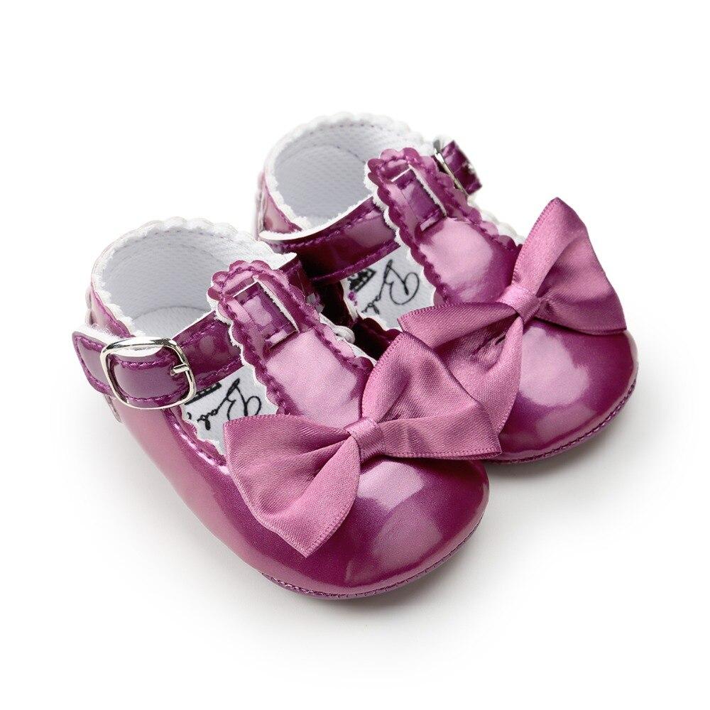 2018 nieuwe stijl baby schoenen zoete vlinder-knoop gesp srtap - Baby schoentjes - Foto 3