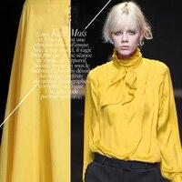 The temptation of springsummerTyushavayellow texture and texture of cotton fabric