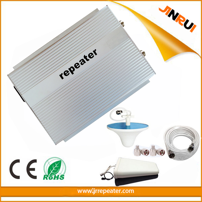 PCS 1900MHz Signal Repeater 3G Amplifier 70db Gain Signal Amplifier 2w GSM 1900 PCS UMTS Full Booster Sets