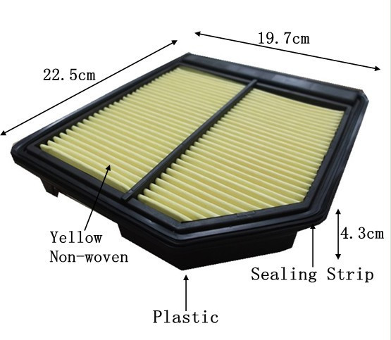 Mahle Air Filter OE Replacement LX2123