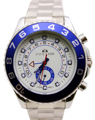 Brand New Luxury Brand White Dial Stainless Steel Automatic Mechanical Self Wind Yachtmaster Gold Blue Men's GMT Watches II 2
