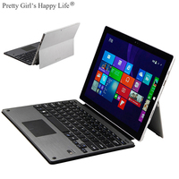 For Microsoft Surface Pro 3 Pro 4 Wireless Bluetooth Keyboard Case For Surface Pro 3 4