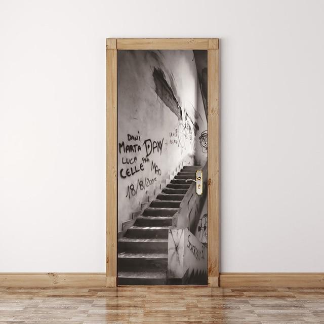 Modern Abstract Graffiti Art Wall Painting Wall Graffiti Stairs D Mural Wall Paper Living Room Bedroom