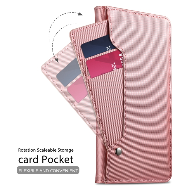 cheap for discount 3f6a8 bba3e US $8.19 38% OFF|Flip phone Case For Huawei Nova 3i Case PU Leather Wallet  Case Flip Stand Cover with Mirror & Kickstand Card Pocket For Nova 3i-in ...